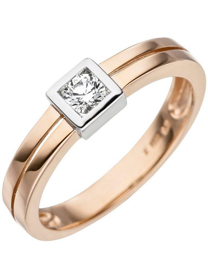 Adelia s goldring 375 gold mit zirkonia kaufen otto - 375 gold ...