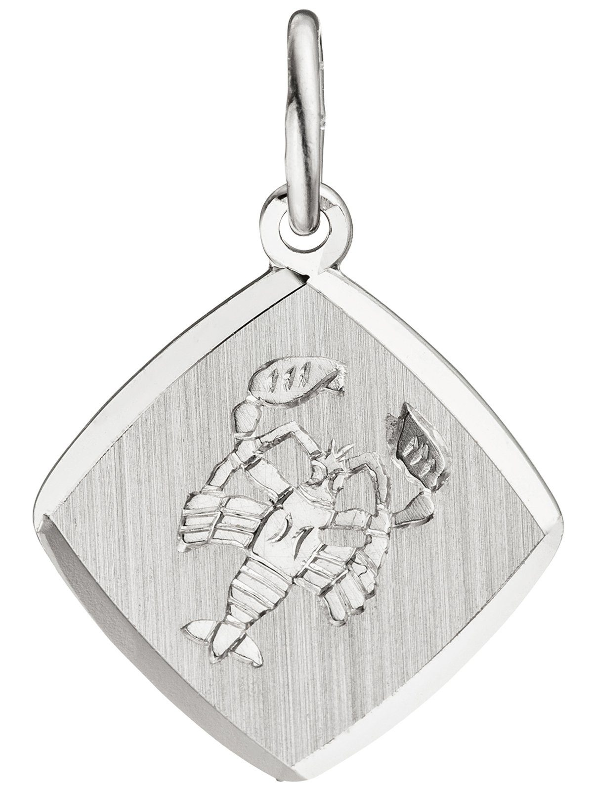 Adelia´s Sternzeichenanhänger »Sternzeichen Krebs Anhänger« 925 Silber