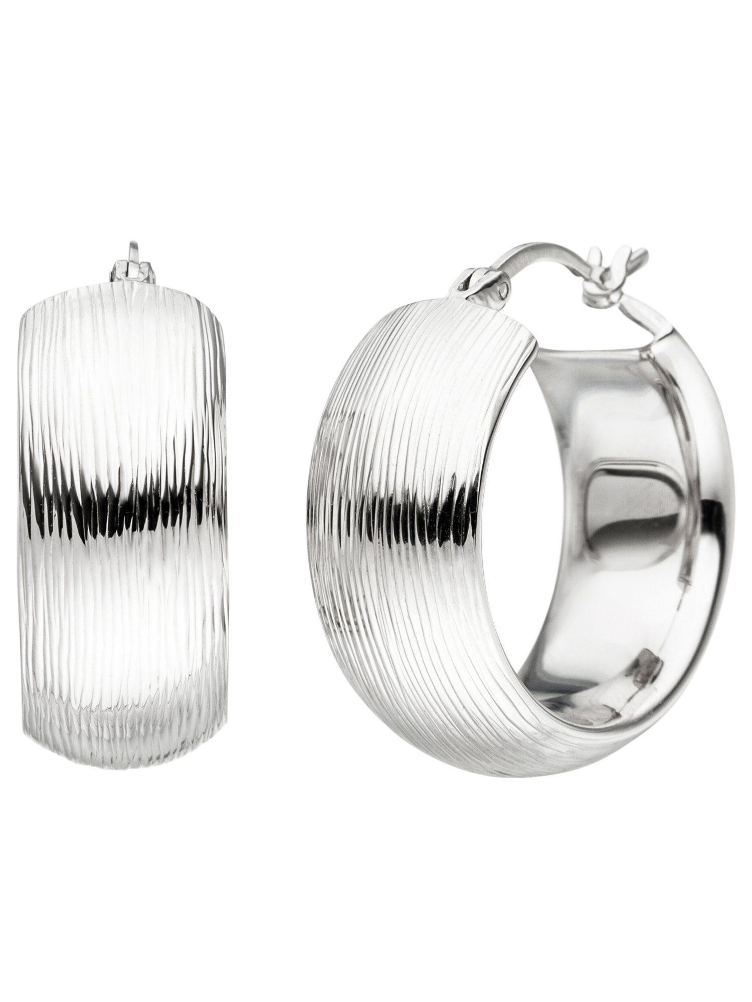Adelia´s Paar Creolen 925 Silber Ø 25,60 mm