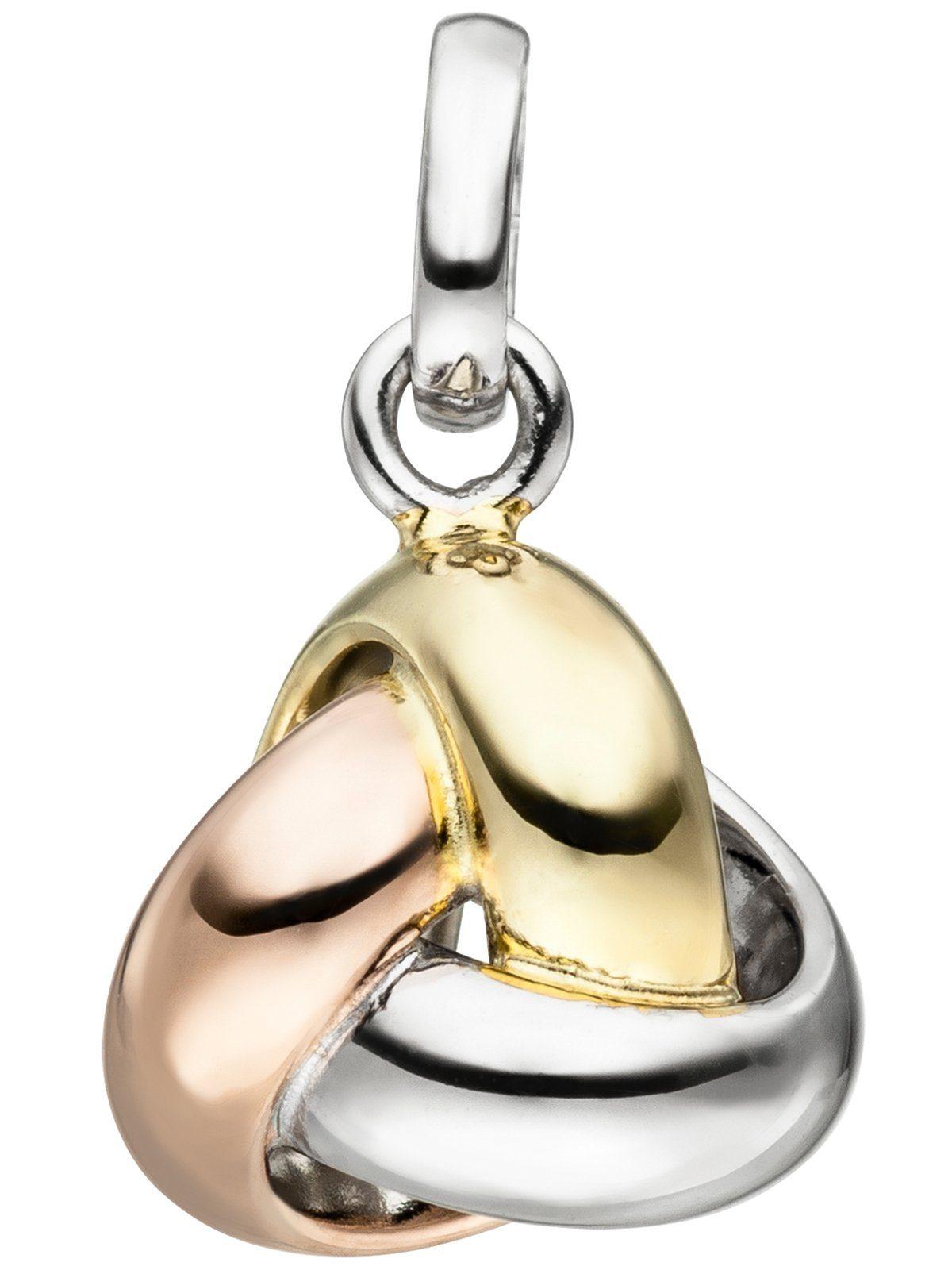 Adelia´s Kettenanhänger »Knoten Anhänger« 925 Silber