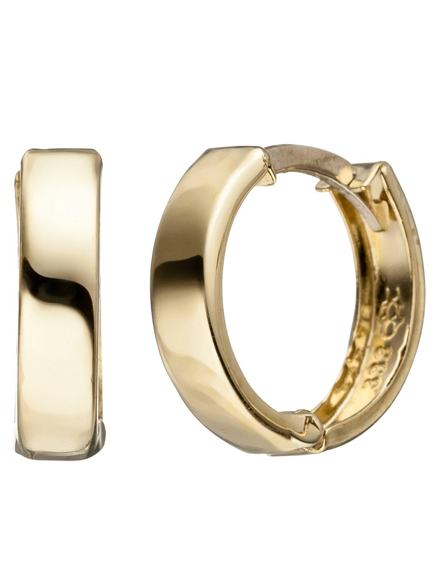 Adelia´s Paar Creolen 333 Gold Ø 13,00 mm