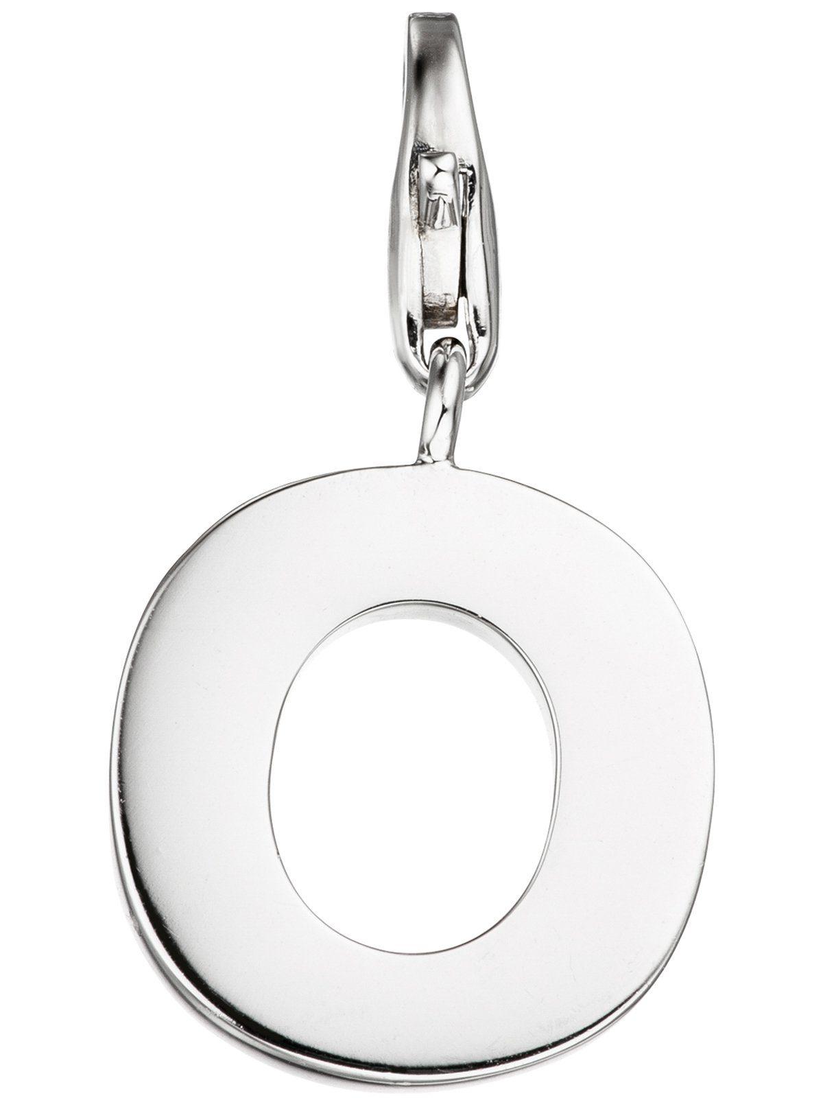 Adelia´s Kettenanhänger »Buchstabenanhänger O Anhänger« 925 Silber