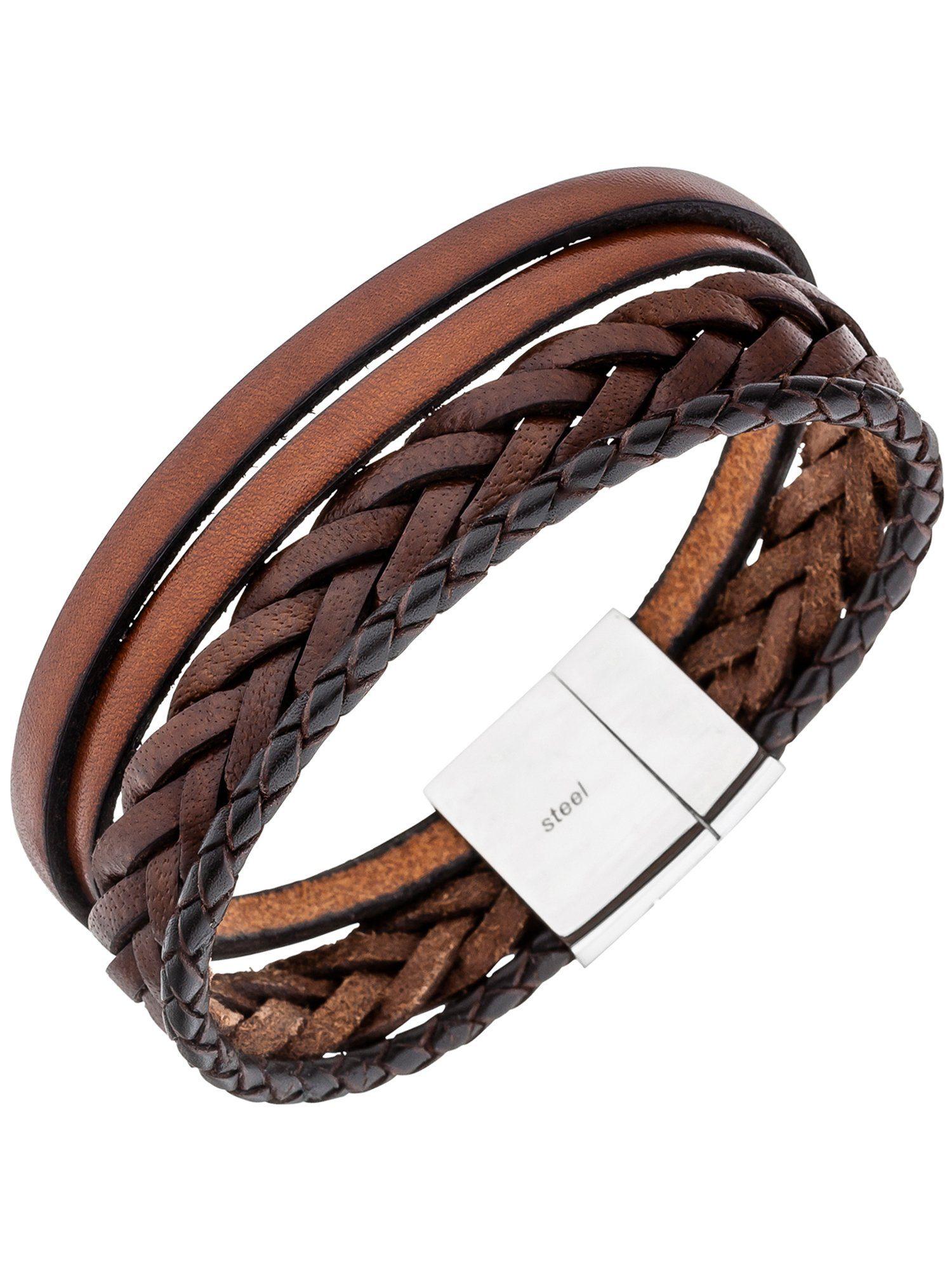 Adelia´s Armband Edelstahl L - 21 cm