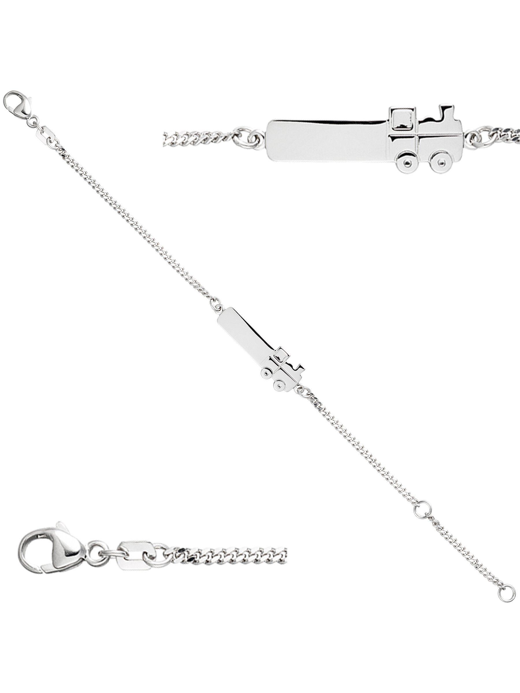 Adelia´s Armband »Lokomotive« 925 Silber L - 14 cm