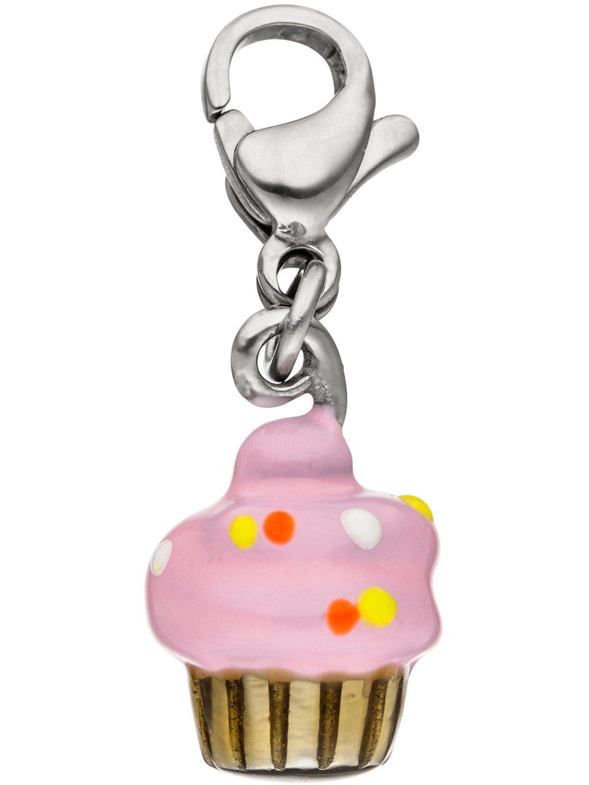 Adelia´s Kettenanhänger »Muffin Anhänger« Edelstahl