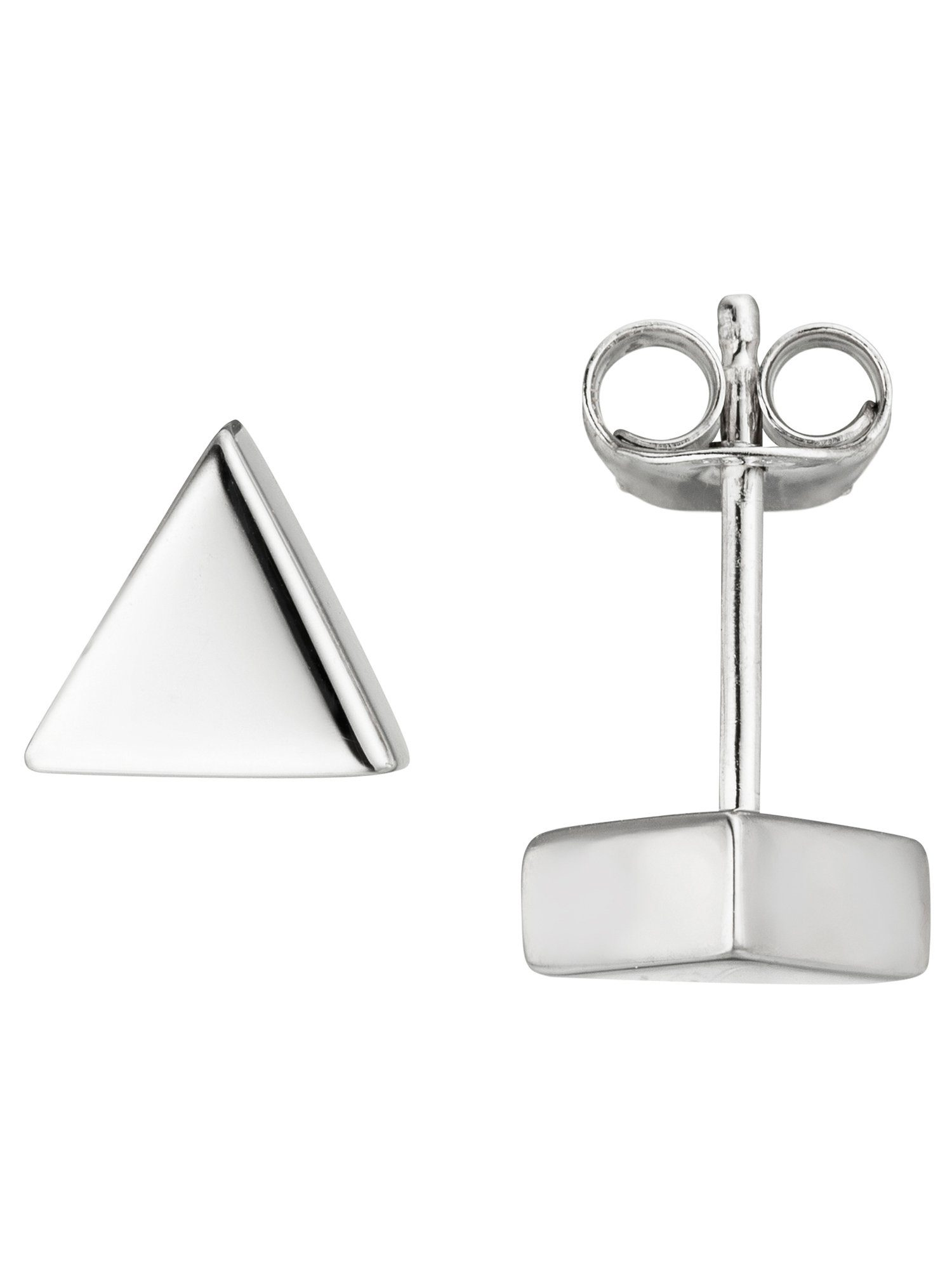 Adelia´s Paar Ohrstecker »Dreieck« 925 Silber