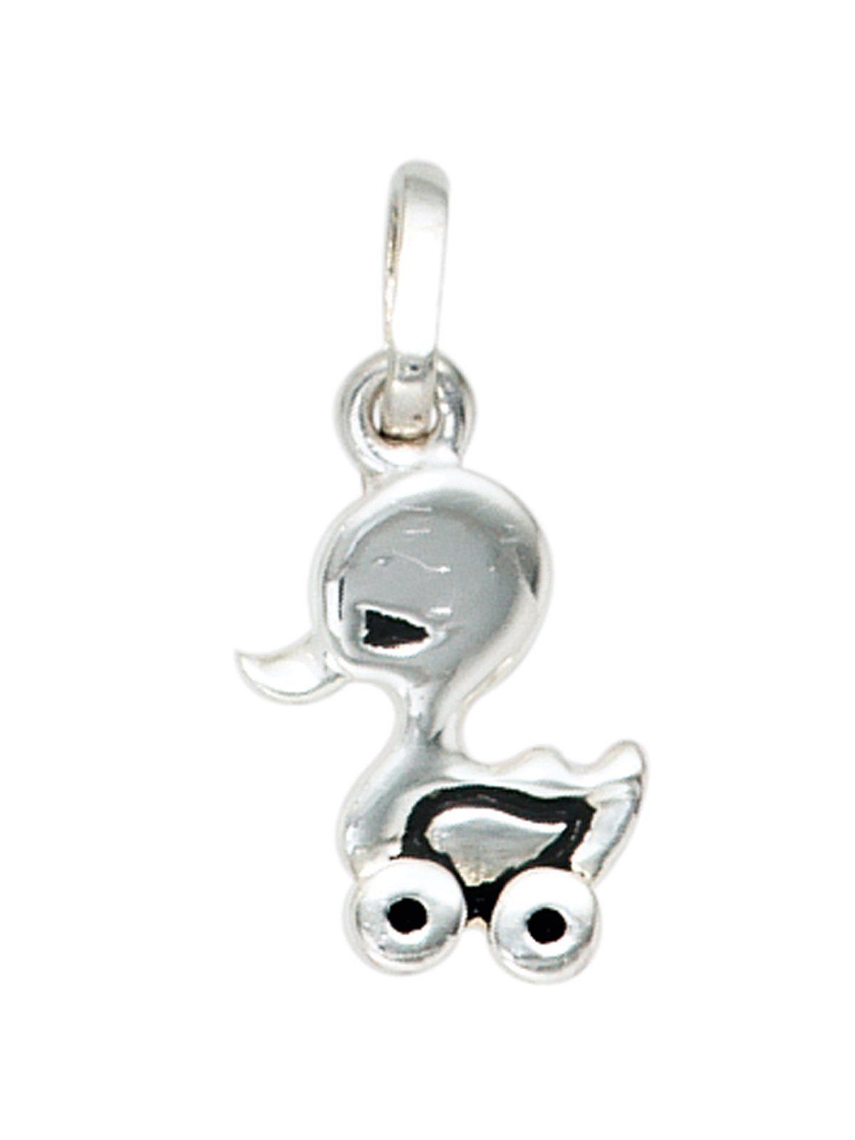 Adelia´s Kettenanhänger »Ente Anhänger« 925 Silber