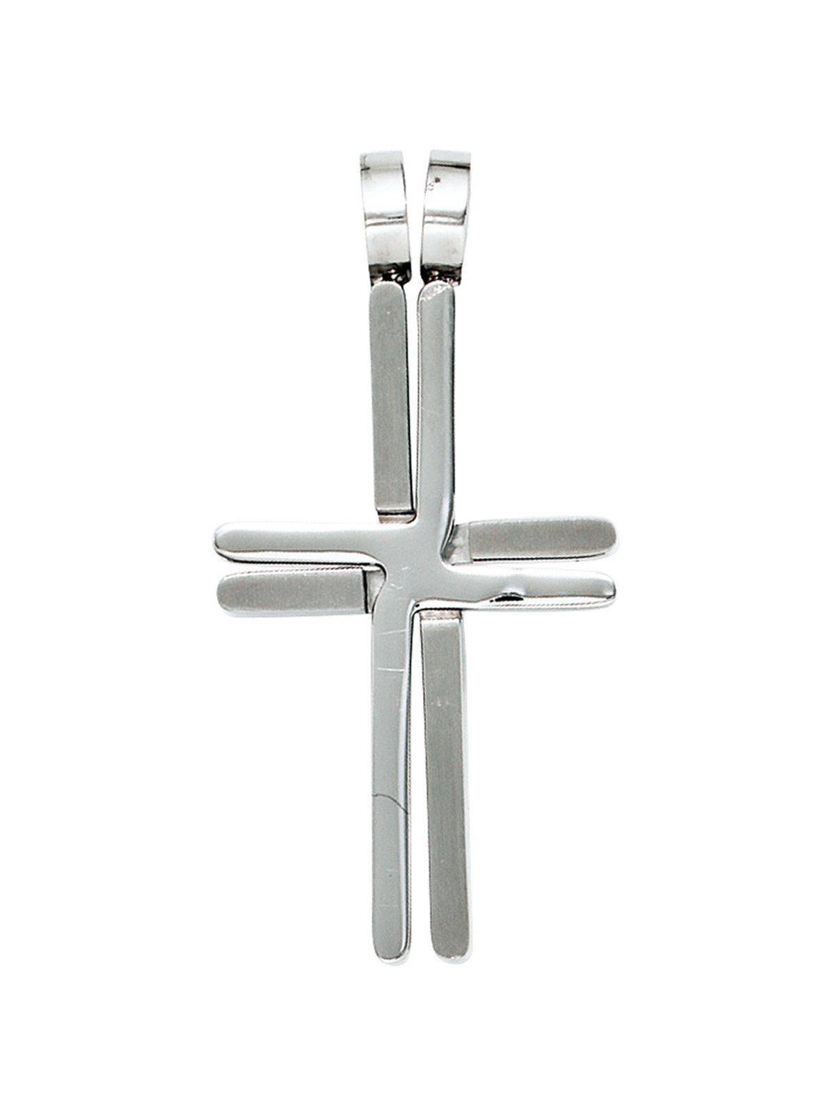 Adelia´s Kettenanhänger »Kreuz Anhänger«, Edelstahl