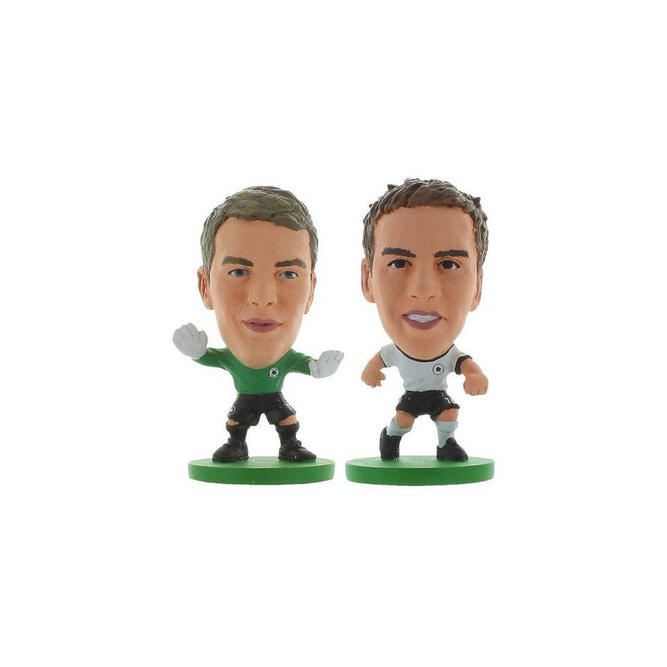 SoccerStarz - Germany Manuel Neuer + Philipp Lahm