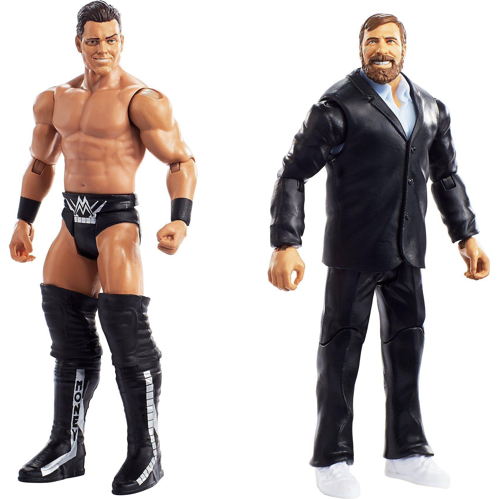 Mattel® WWE Basis Figuren (15 cm) 2er-Pack The Miz & Daniel Bryan