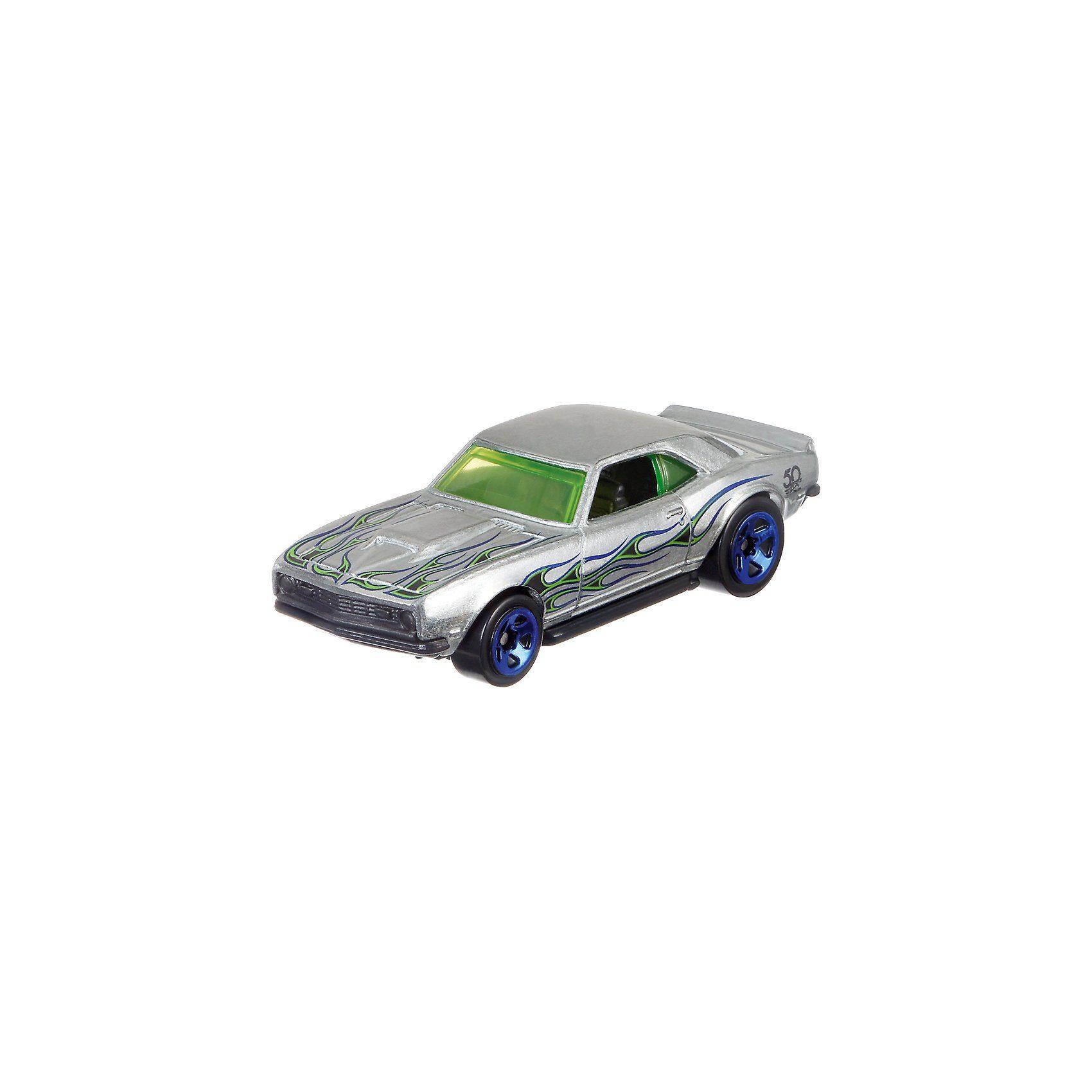 Mattel® Hot Wheels 50th Anniversary Zamac Themed Sortiment - 1 Fahrz