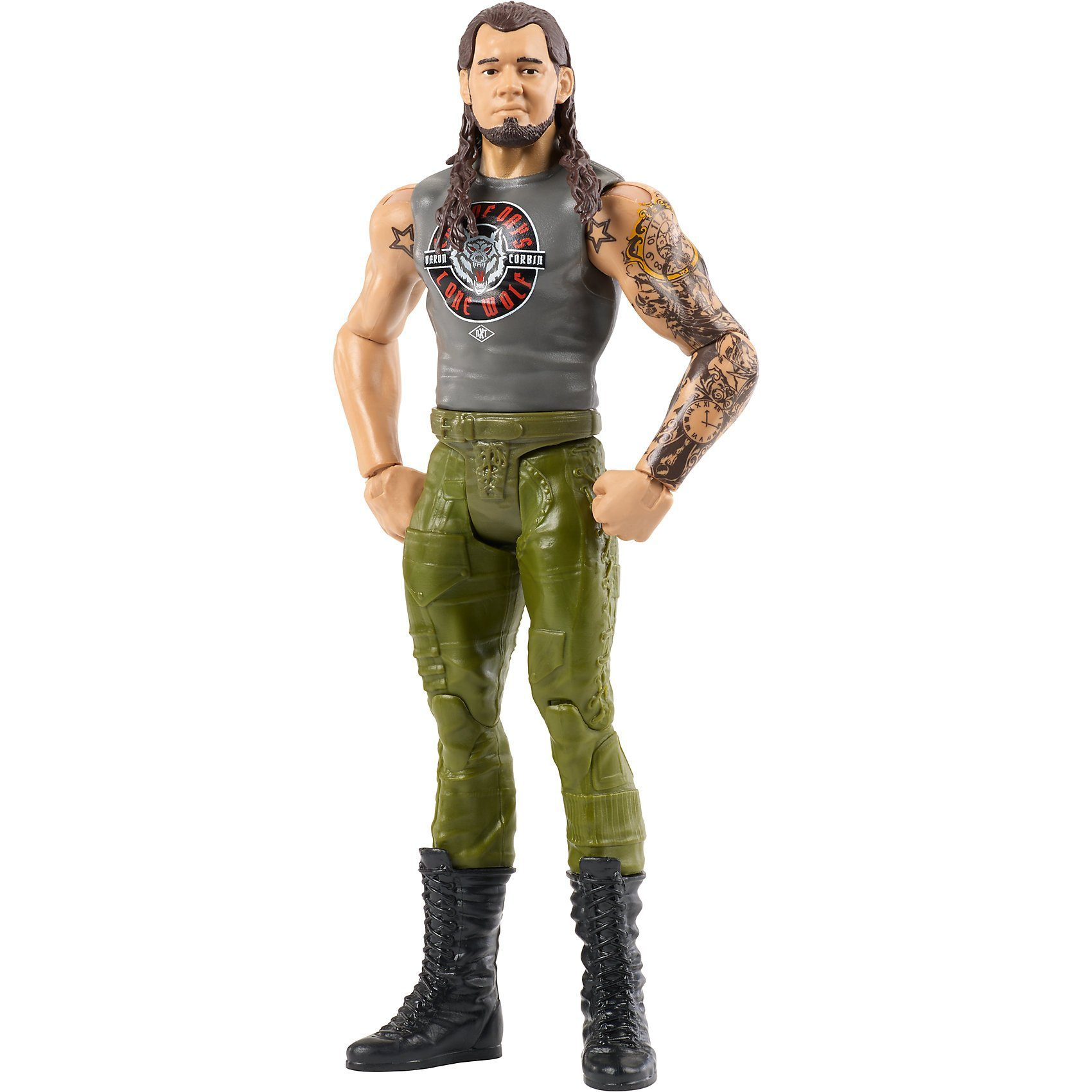 Mattel WWE Basis Figur (15 cm) Baron Corbin