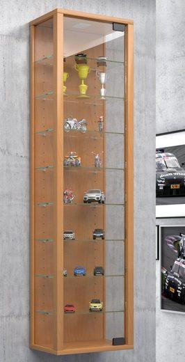 VCM Hängevitrine »Sammel Wandvitrine Holz Glas Stando Maxi«