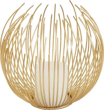 Guido Maria Kretschmer Home&Living Windlicht »Flowes« (Set, bestehend aus 1x Kerze und 1x Windlicht)