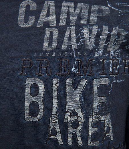 CAMP DAVID Sweatjacke