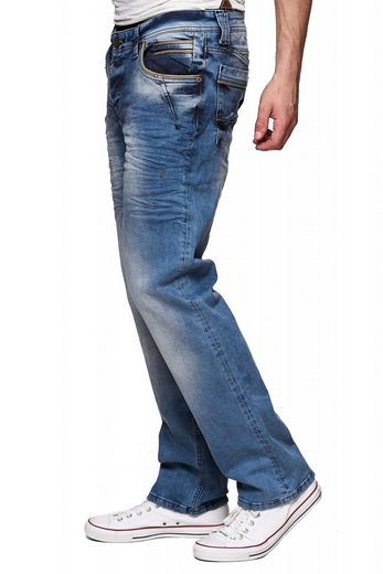 Rusty Neal Jeans im Used-Look