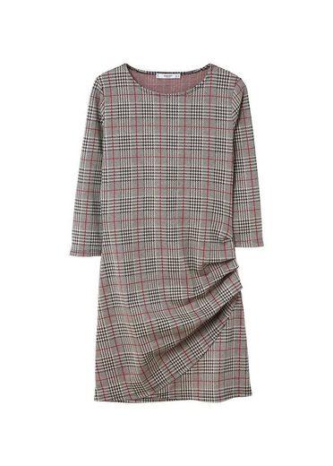 MANGO Kleid mit Vichy-Karo