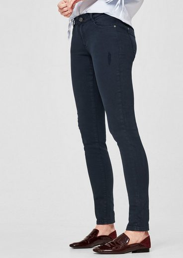 s.Oliver RED LABEL Shape Superskinny: Stretchige Twillhose