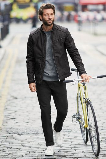 Next Bikerjacke, karbon