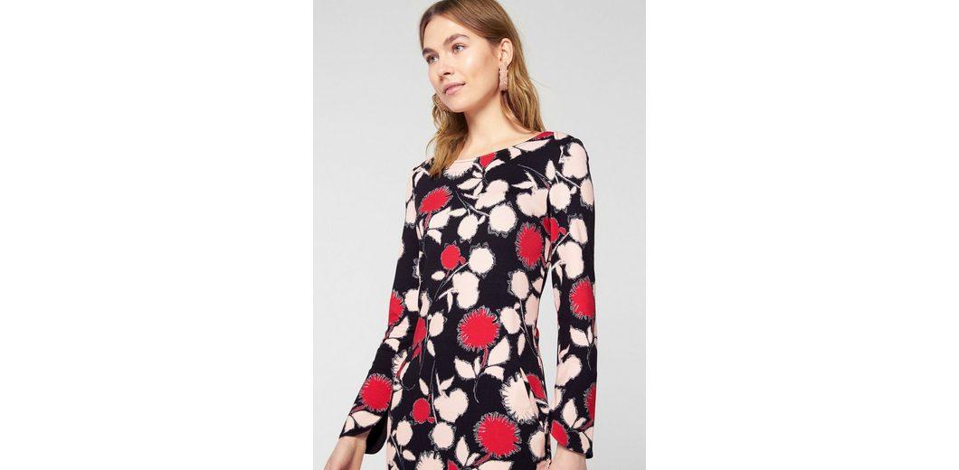 Rabatt Mit Paypal s.Oliver BLACK LABEL Jerseykleid mit runder Manschette Günstig Kaufen Bilder Finden Große Zum Verkauf k1zIhTV0aV