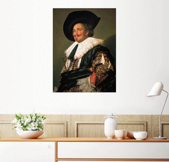 Posterlounge Wandbild - Frans Hals »Der lachende Kavalier«