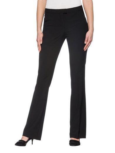 Alba Moda Hose aus figurformendem Stretch-Material