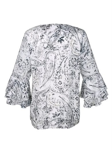 Alba Moda Bluse mit exklusivem Alba Moda Print