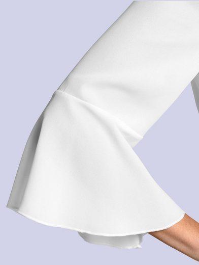 Alba Moda Blouse With Feminine Volants
