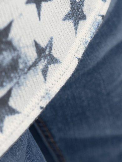 Exclusive Alba Moda Pullover With Alba Moda Star Print