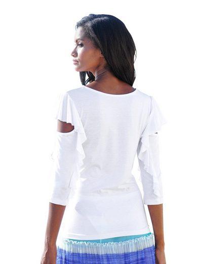 Alba Moda Shirt mit Volants