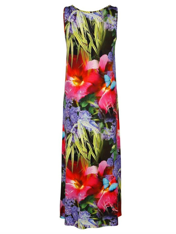 Damen Alba Moda Strandkleid bunt, mehrfarbig | 04055714440105