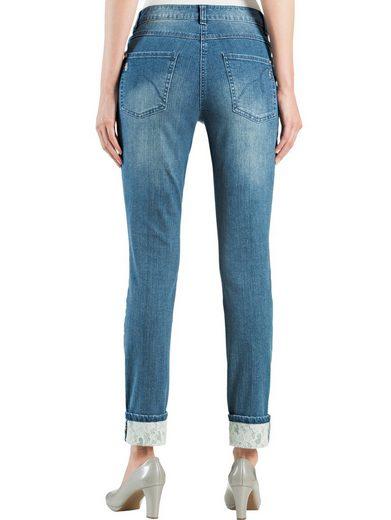 Alba Moda Jeans Sous Forme Raccourcie