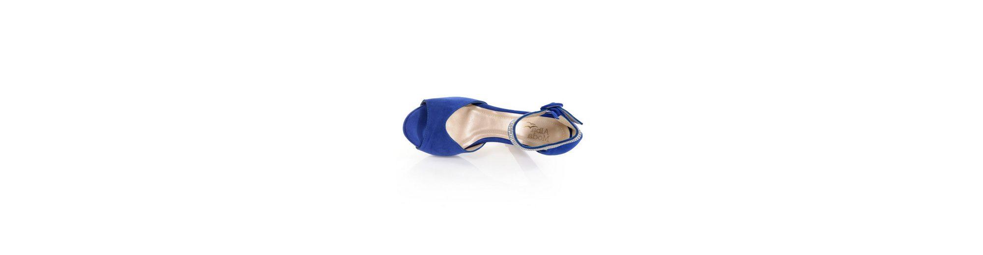 Alba Moda Sandalette mit Plateausohle Erkunden Verkauf Online Preise Günstiger Preis 2018 Neuer Günstiger Preis Versand Rabatt Verkauf Günstig Kaufen Modisch RPRT6kvU