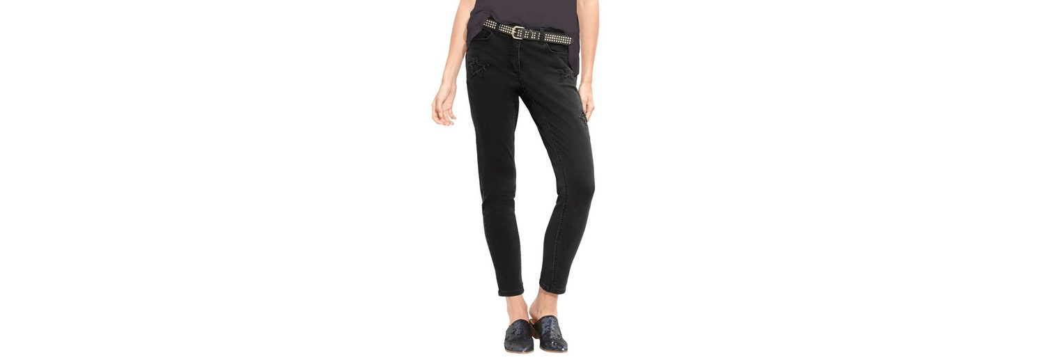 Spielraum Besuch Amy Vermont Jeans mit Sternen Cut out Einkaufen Outlet Online QENYWXMGI