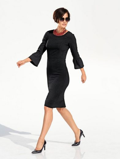 Amy Vermont Kleid mit Volant am Ärmel