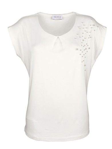 Mona Shirt With Pearl Decoration