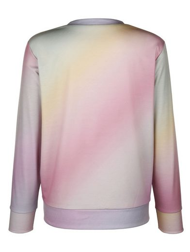 Mona Sweatshirt In Batik Pastel Colors