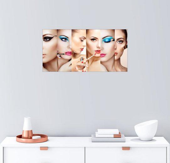 Posterlounge Wandbild »Beauty collage«