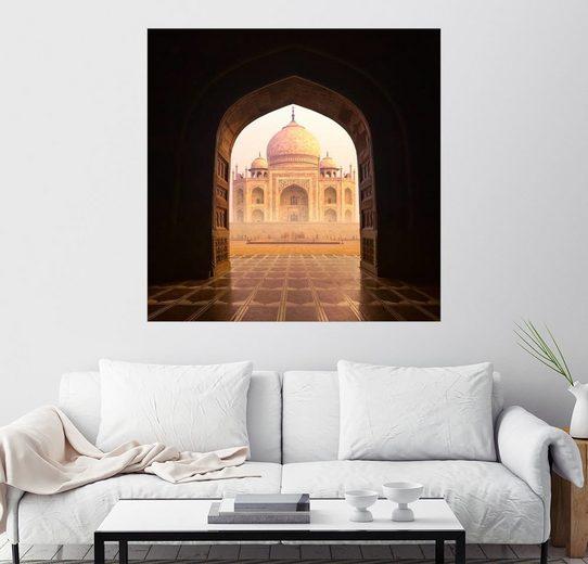 Posterlounge Wandbild »Taj Mahal Indien«