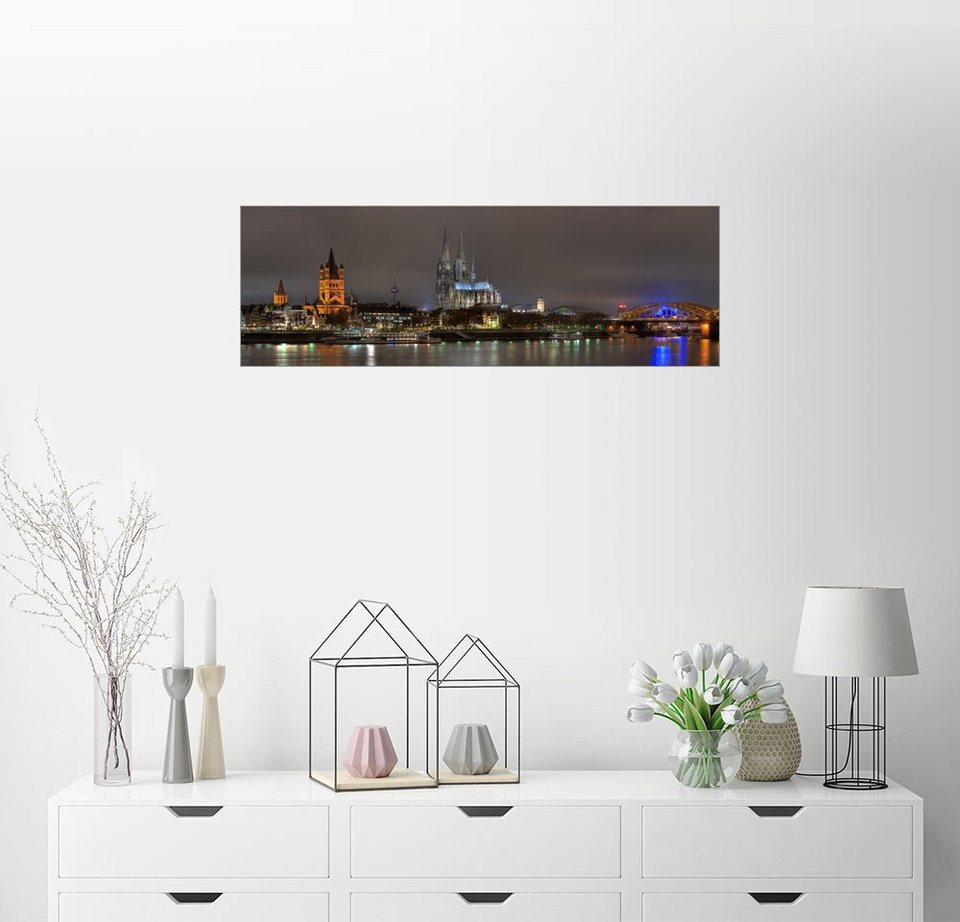 posterlounge wandbild fine art images k ln panorama online kaufen otto. Black Bedroom Furniture Sets. Home Design Ideas