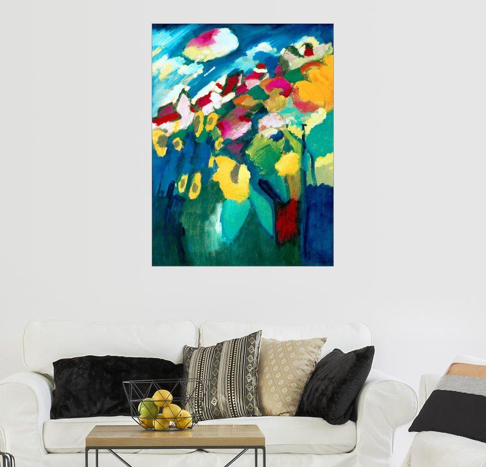 Posterlounge Wandbild - Wassily Kandinsky »Murnau - Der Garten II«