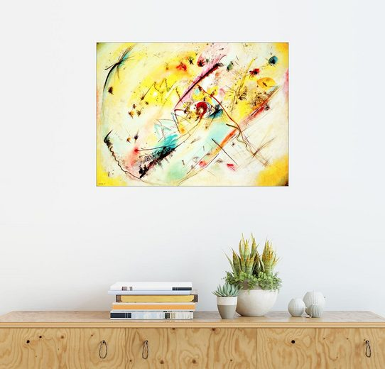 Posterlounge Wandbild - Wassily Kandinsky »Helles Bild«