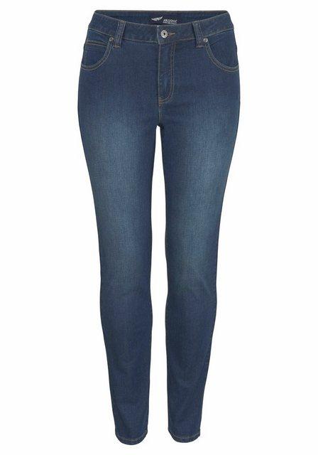 Hosen - Arizona Slim fit Jeans High Waist › blau  - Onlineshop OTTO