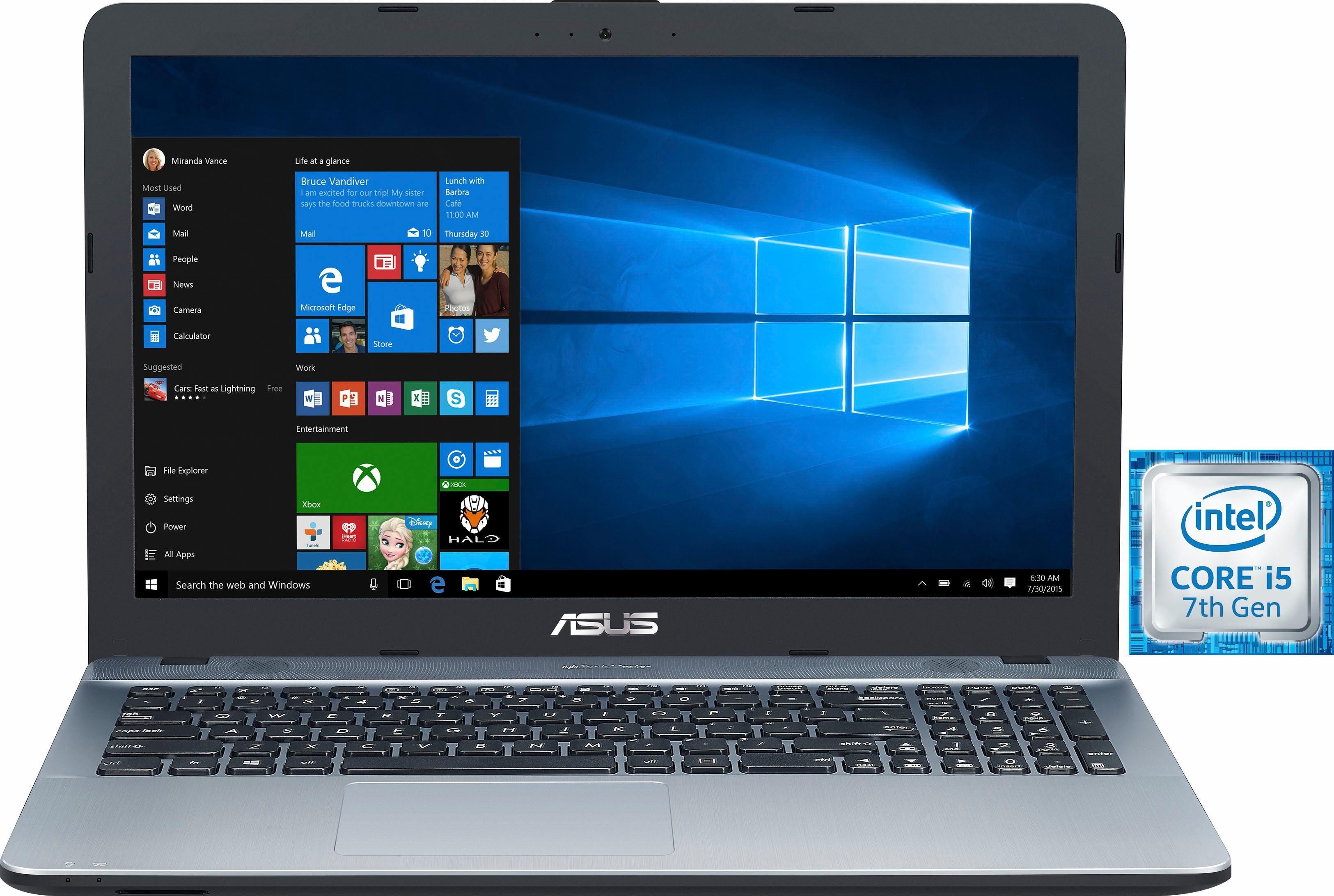 Asus R541UJ-DM265T Notebook (39,6 cm/15,6 Zoll, Intel Core i5, GeForce, 1000 GB HDD)