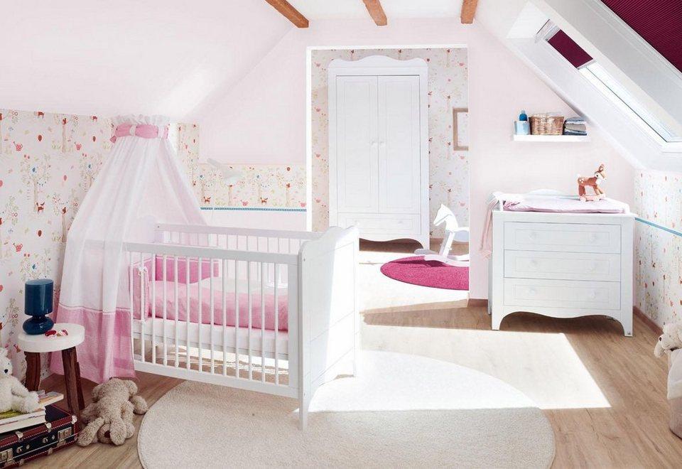 Pinolino babyzimmer set 3 tlg kinderzimmer fleur breit - Otto babyzimmer ...