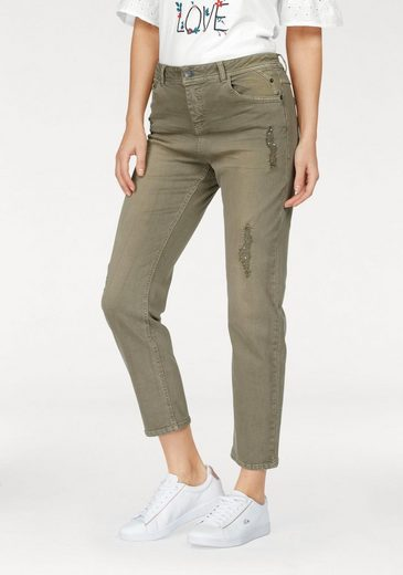 s.Oliver RED LABEL 5-Pocket-Hose, mit tollen Pailletten Details