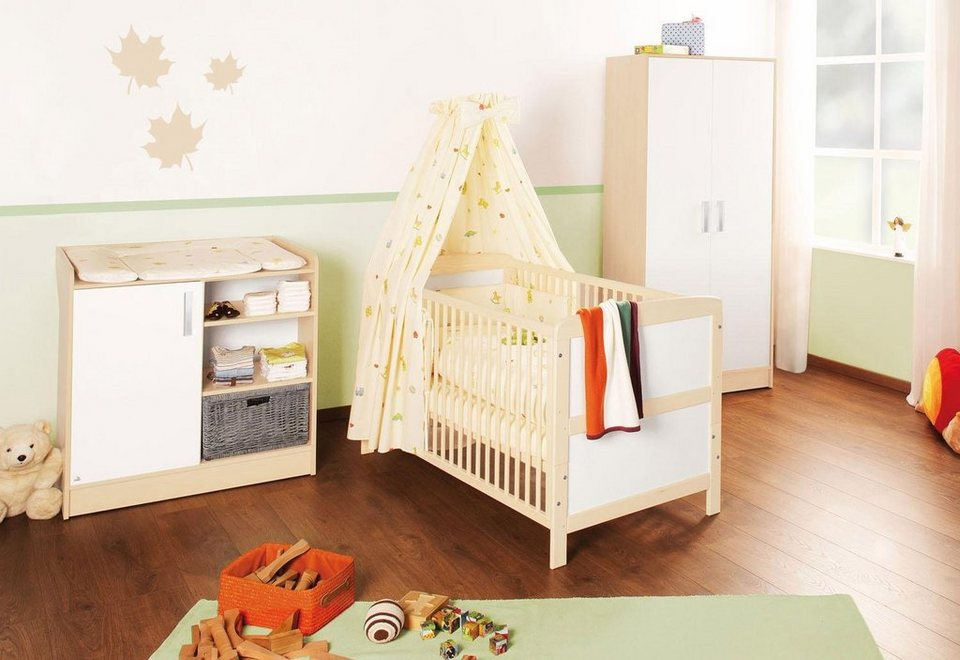 Pinolino babyzimmer set 3 tlg kinderzimmer florian - Otto babyzimmer ...