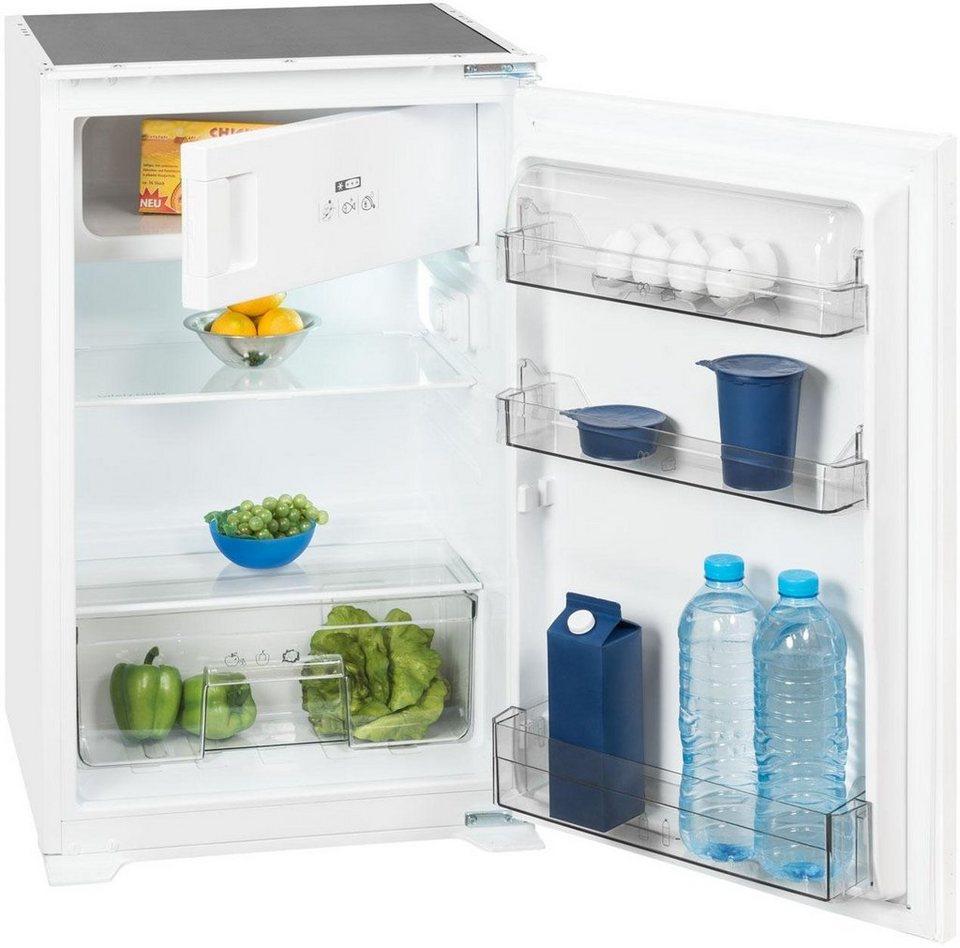 Exquisit integrierbarer einbau kuhlschrank eks 131 42 a for Integrierbarer kühlschrank