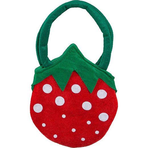 Orlob Kostüm »Erdbeer-Tasche«