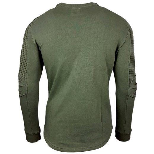 Rusty Neal Sweatshirt mit stylischen Details
